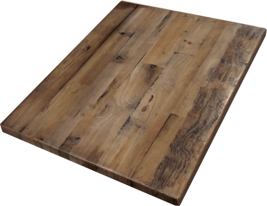 Cafe Table Tops Reclaimed Wood Straight Plank Table Tops Economy