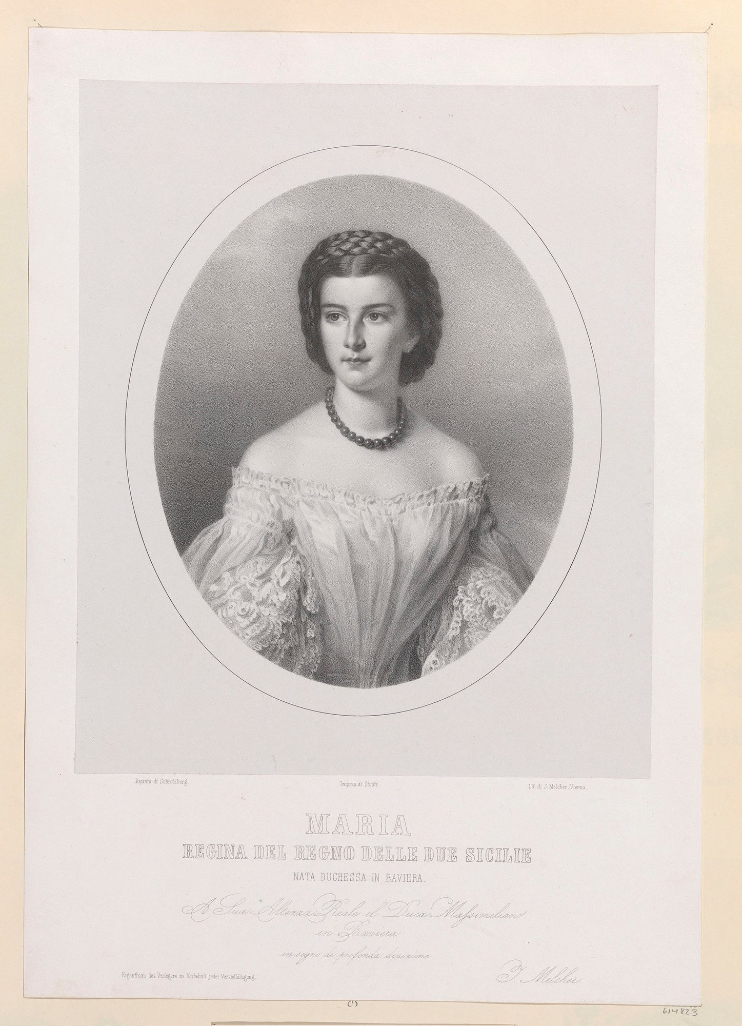 Francesco&#39 Maria Sophia Queen Of The Two Sicilies Consort Of Francesco