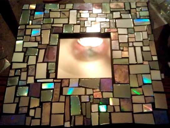 How To Cut Glass Tile Recycle Old Cds Into These 7 Gorgeous Crafts | Reader's Digest
