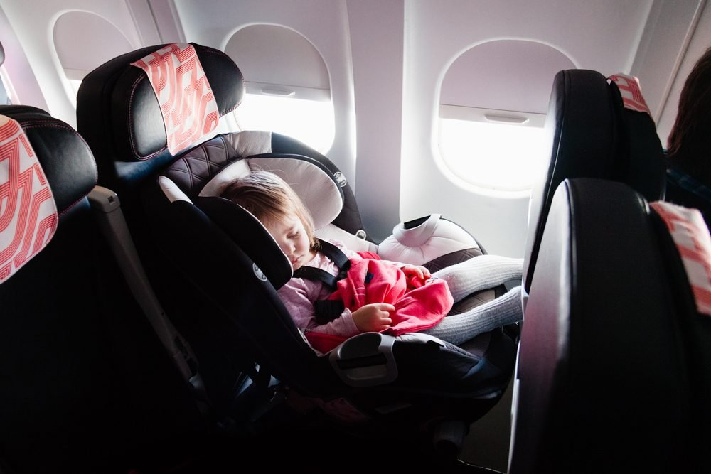 Child Car Seat Jacket Flying With Kids 21 Secrets From Flight Attendants And