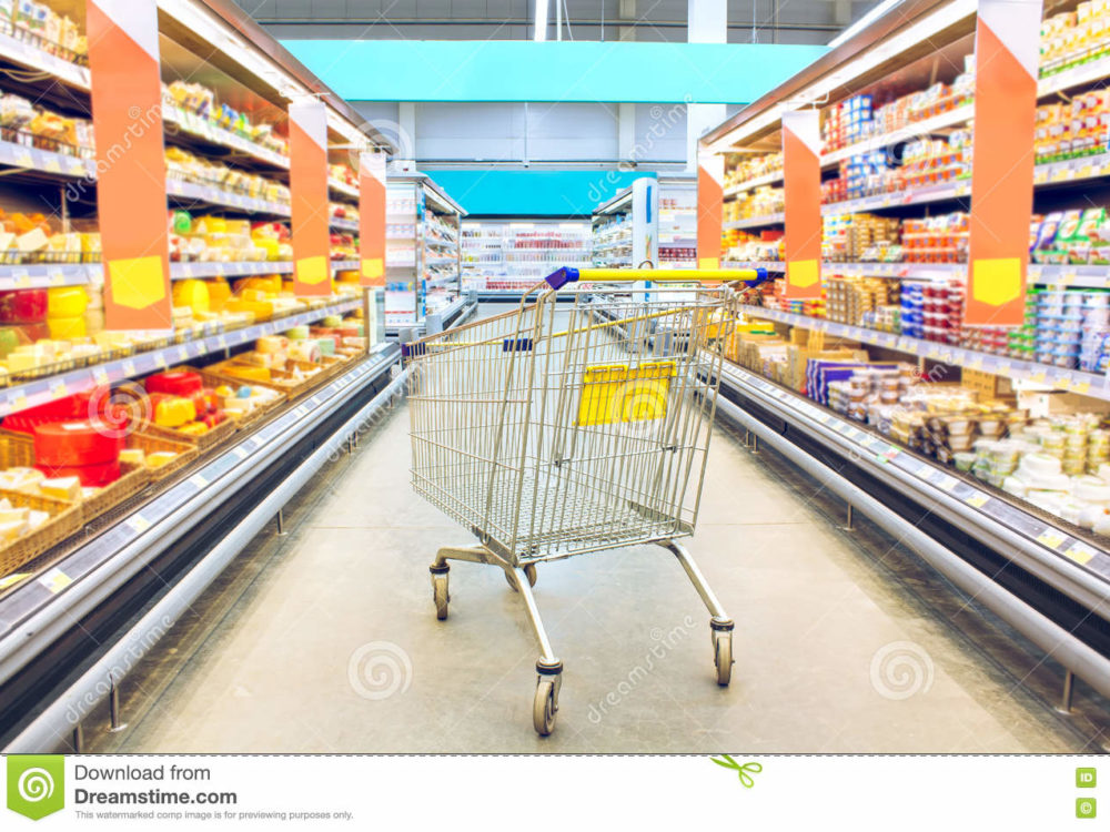 Grocery store shopping list - RD2RD