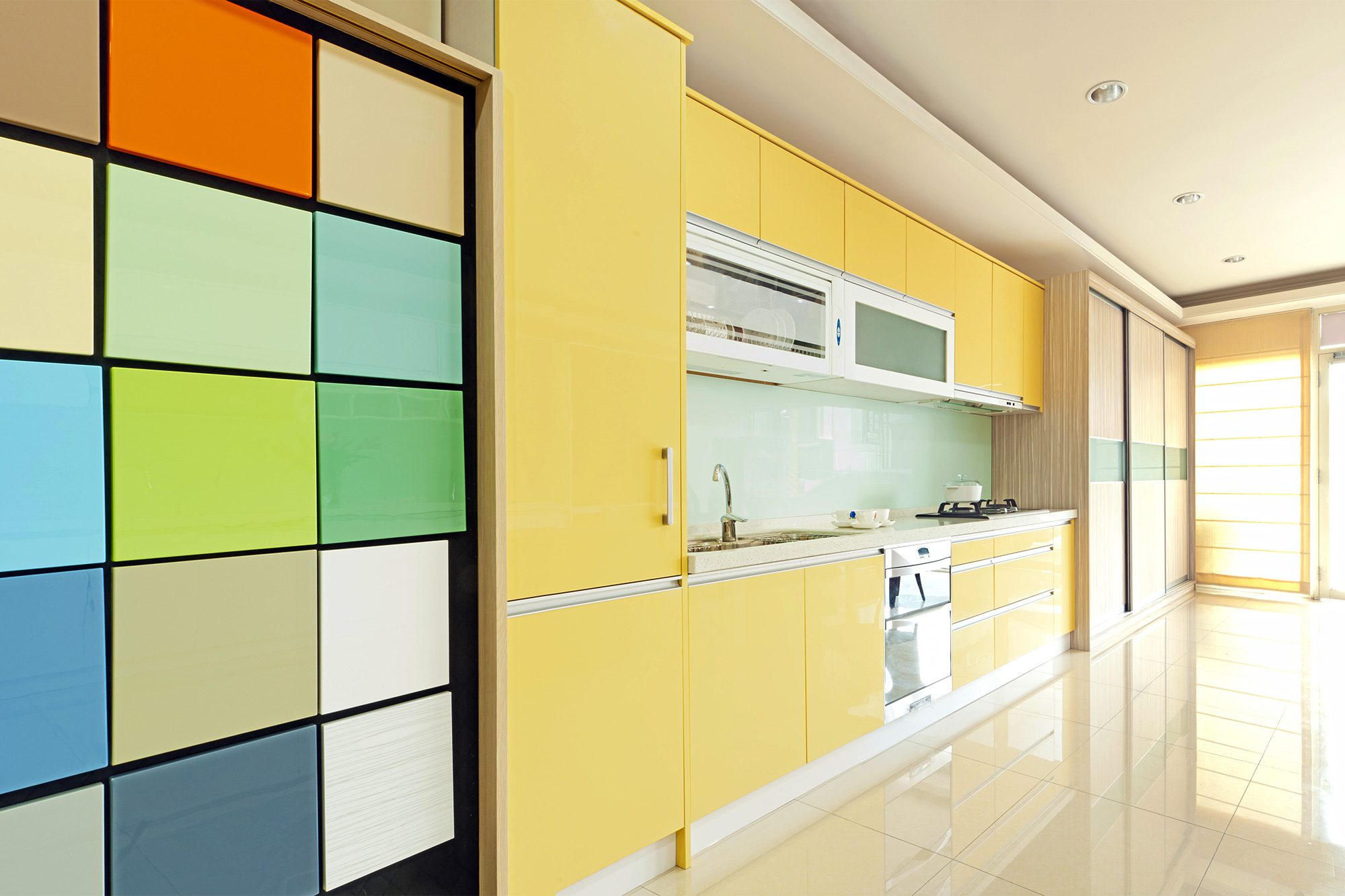 Kitchen Color Design Pictures Never Mind The Stainless Steel Let S Put Some Color Back In The