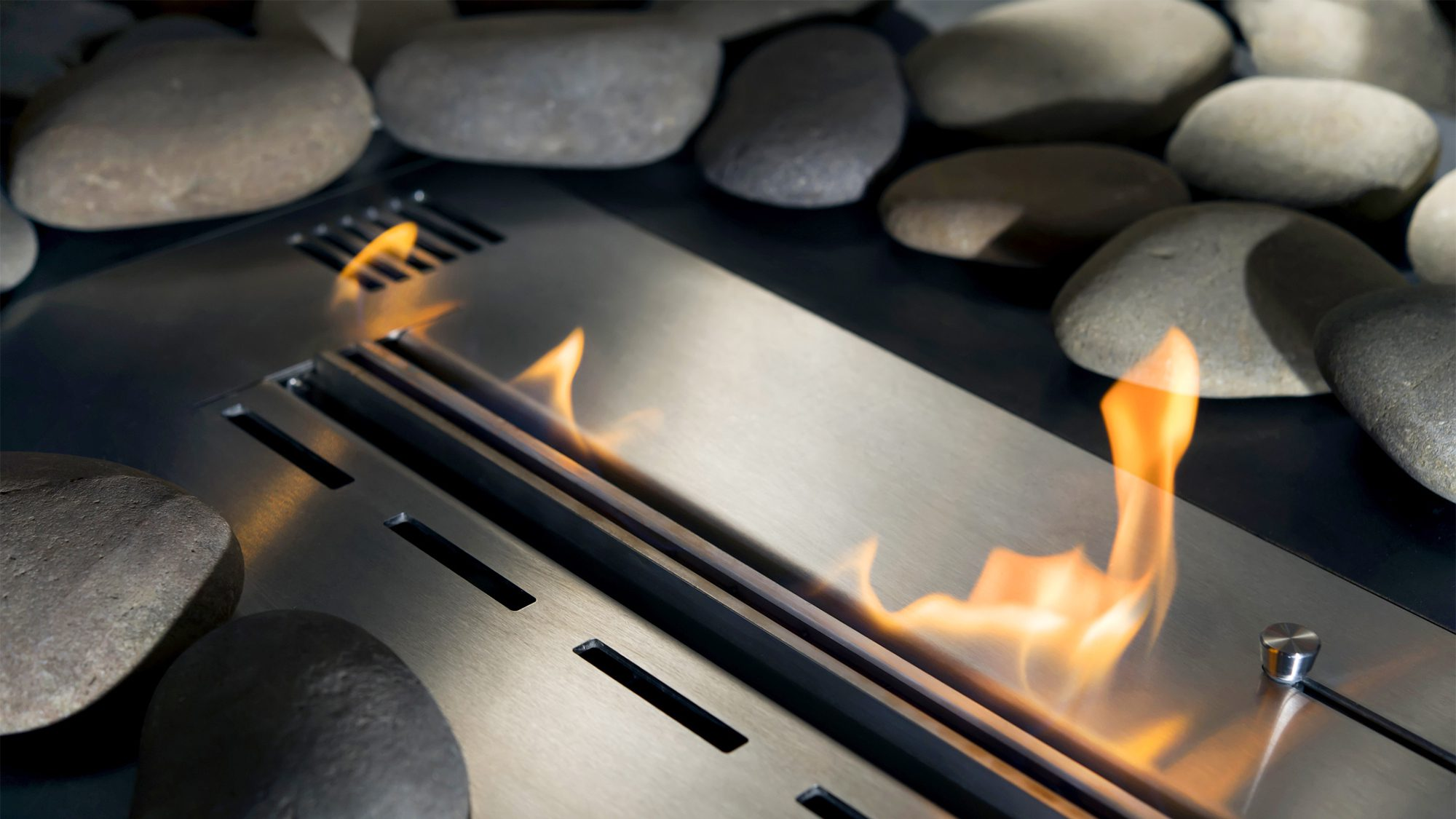 How Does A Vent Free Gas Fireplace Work Ventless Gas Fireplace Is It Safe Realtor
