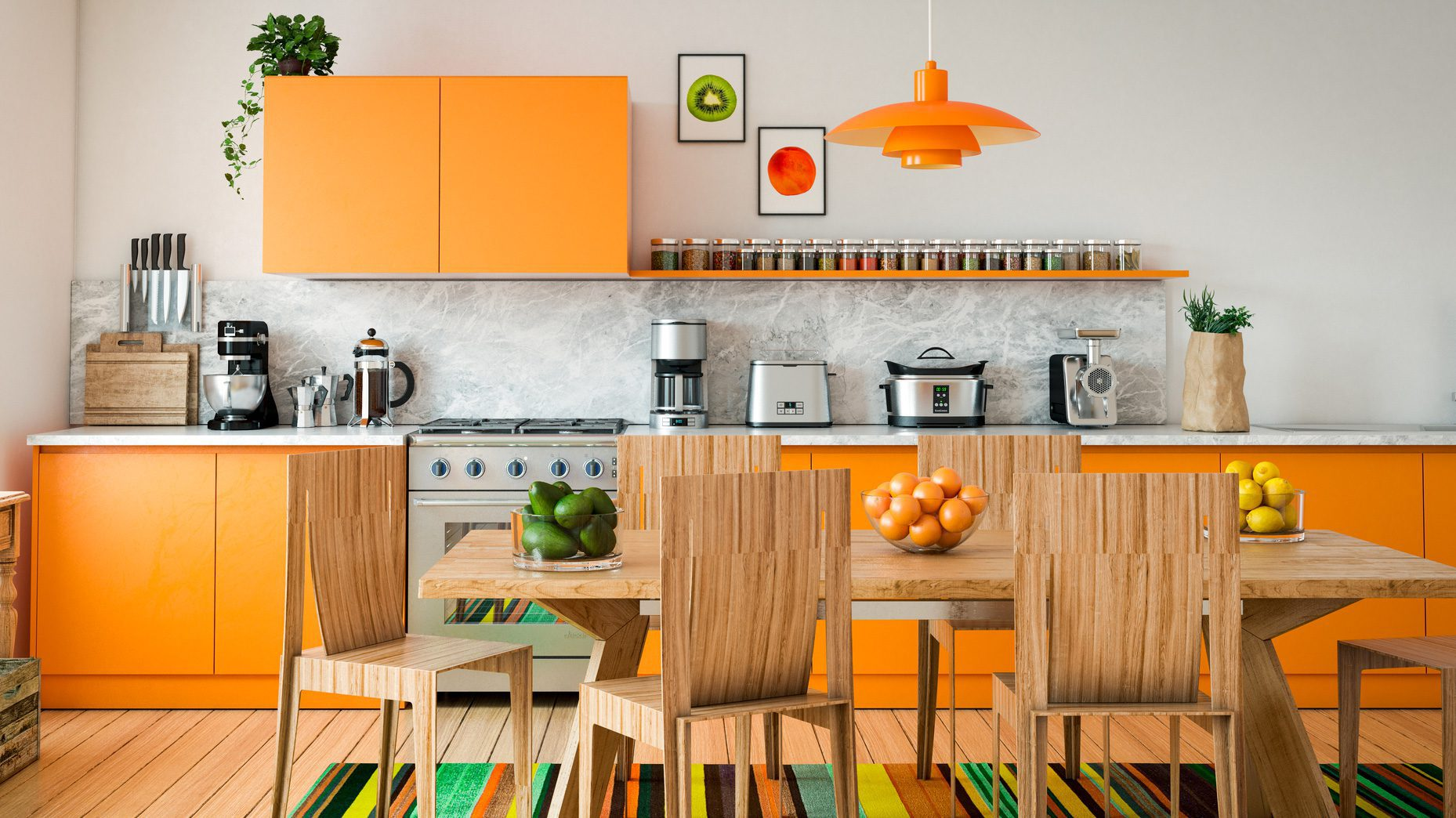 Kitchen Color Design Pictures 8 Cheap And Easy Ways To Add Color Back Into Your Kitchen Realtor