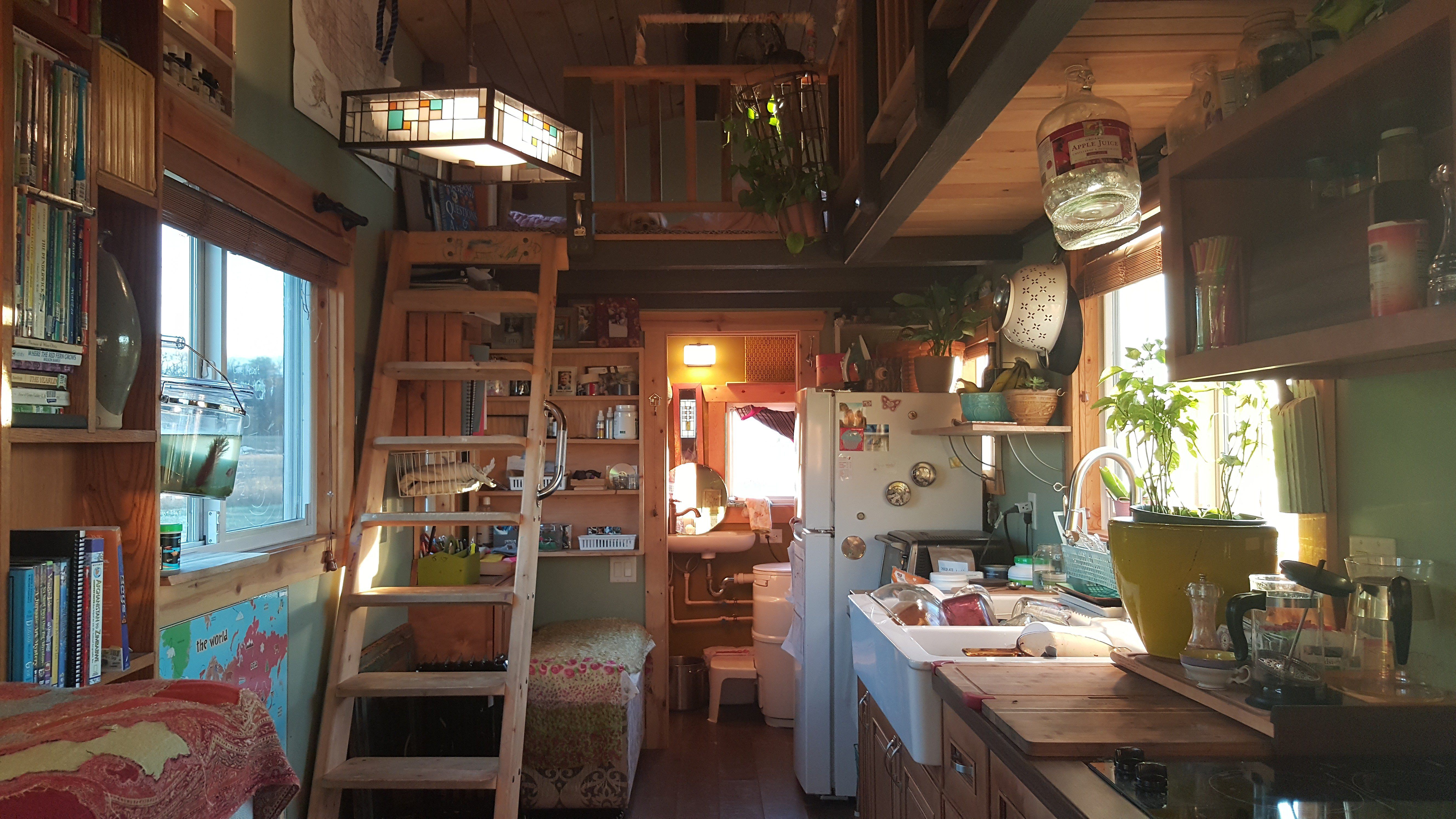 Tiny House Interieur The Truth Behind Tiny House Living From People Who 39ve