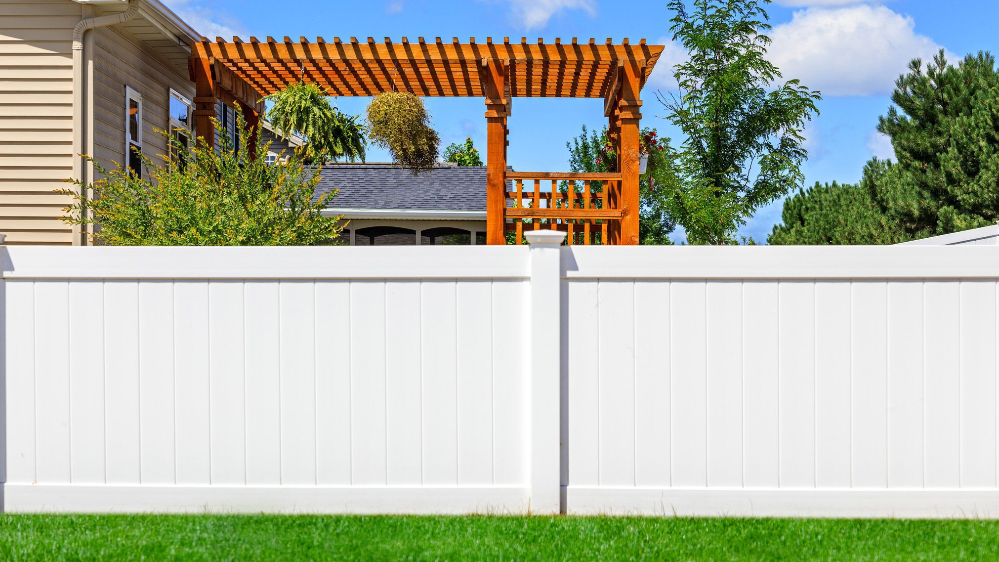 Backyard Fence What Is A Privacy Fence Hide Your Home From Nosy Neighbors