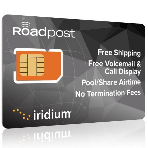 Iridium GO! Monthly Airtime Plans - Roadpost