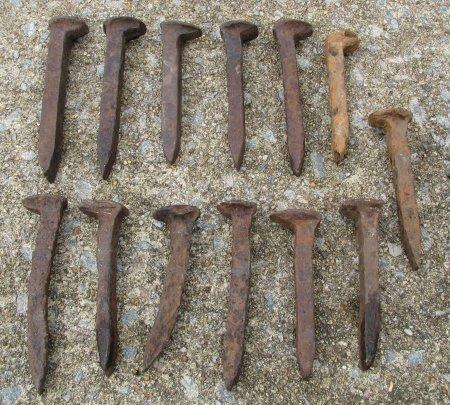 Used Railroad Spikes