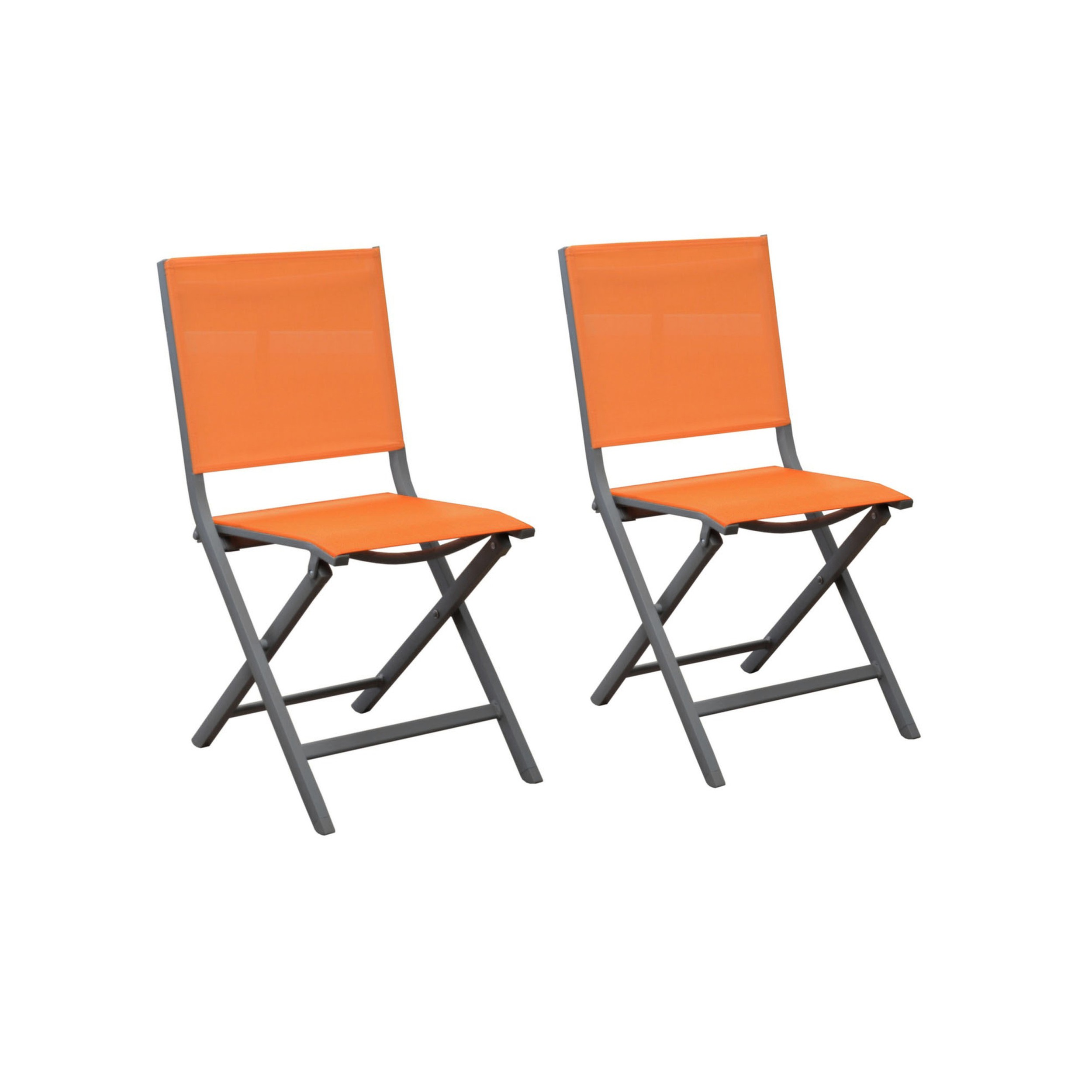 Lot 8 Chaises De Jardin Chaise De Jardin Orange Chaise De Jardin En M Tal Orange