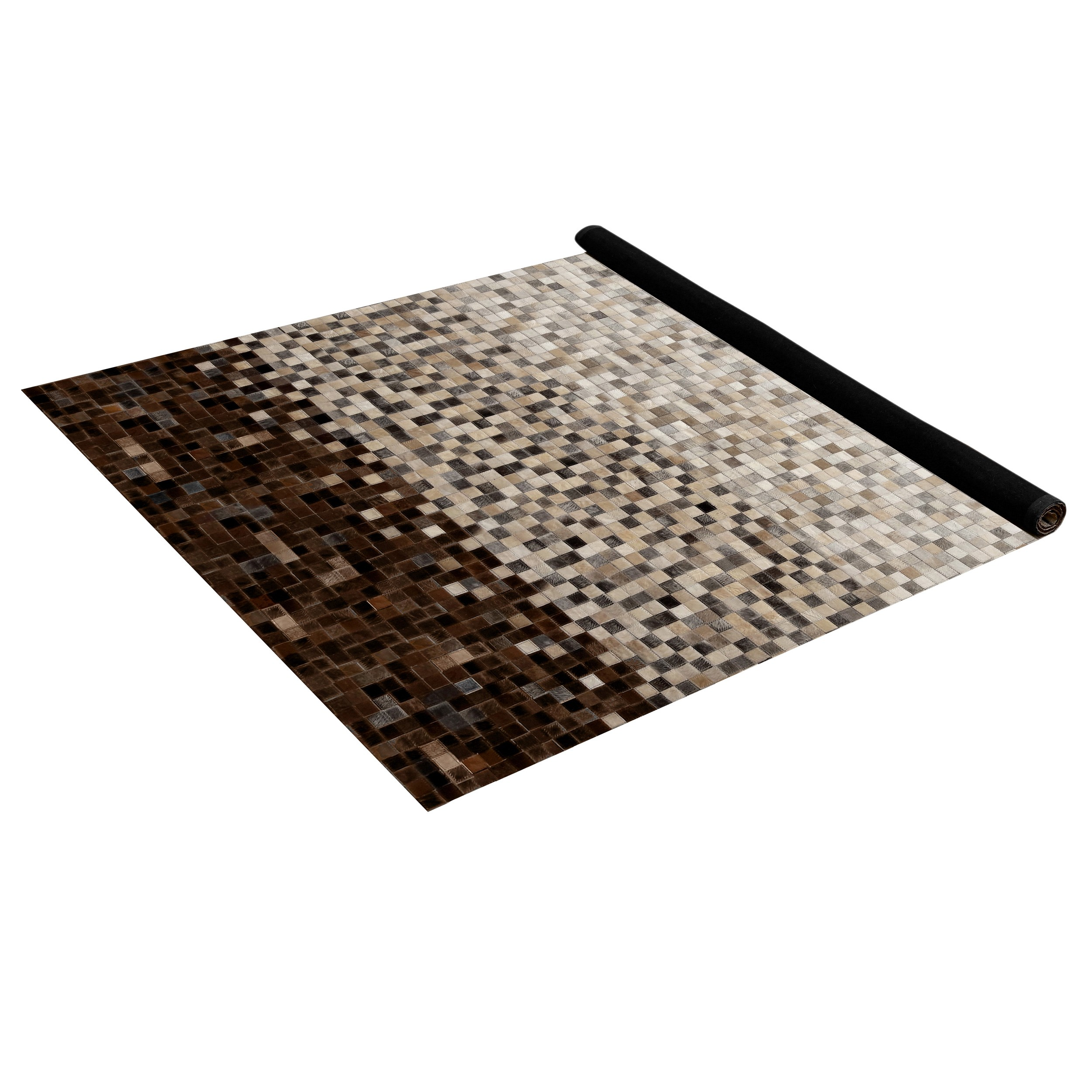 Tapis Cuir Pas Cher Tapis Marron Beige Simple Tapis Beige Et Marron With