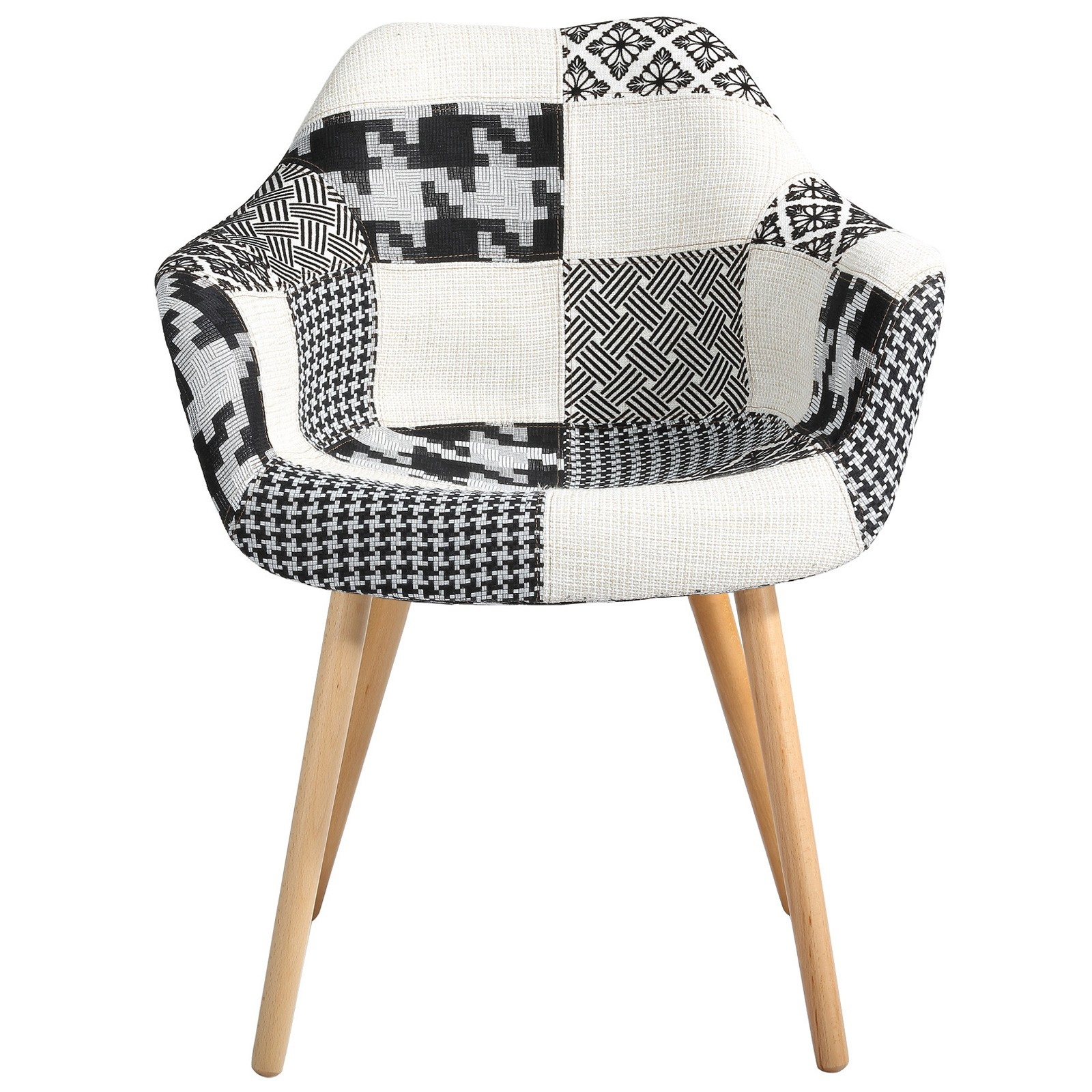 La Redoute Chaises Scandinaves Chaise Scandinave Patchwork