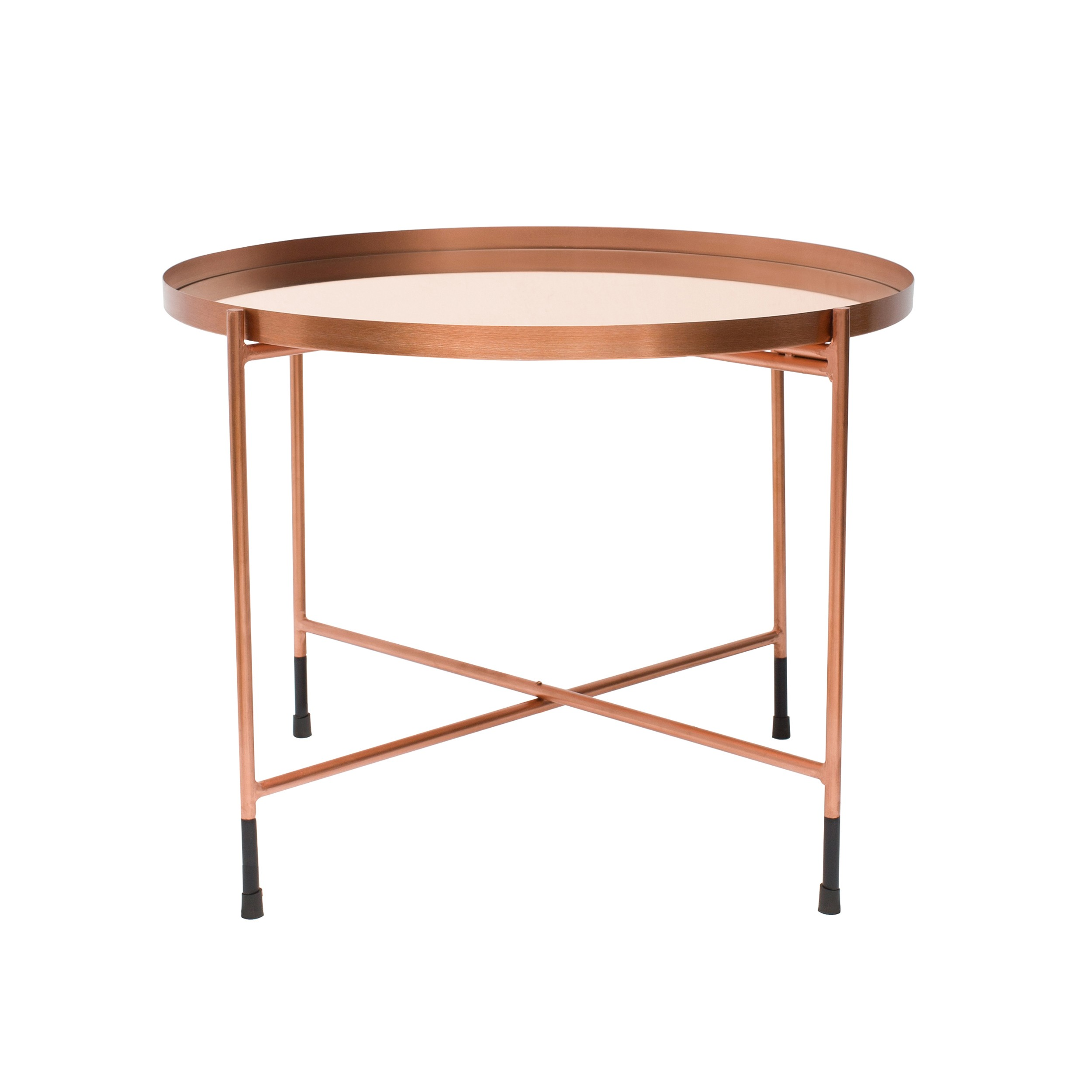 Table Basse Cuivre Table Basse Ronde Dusti Cuivre
