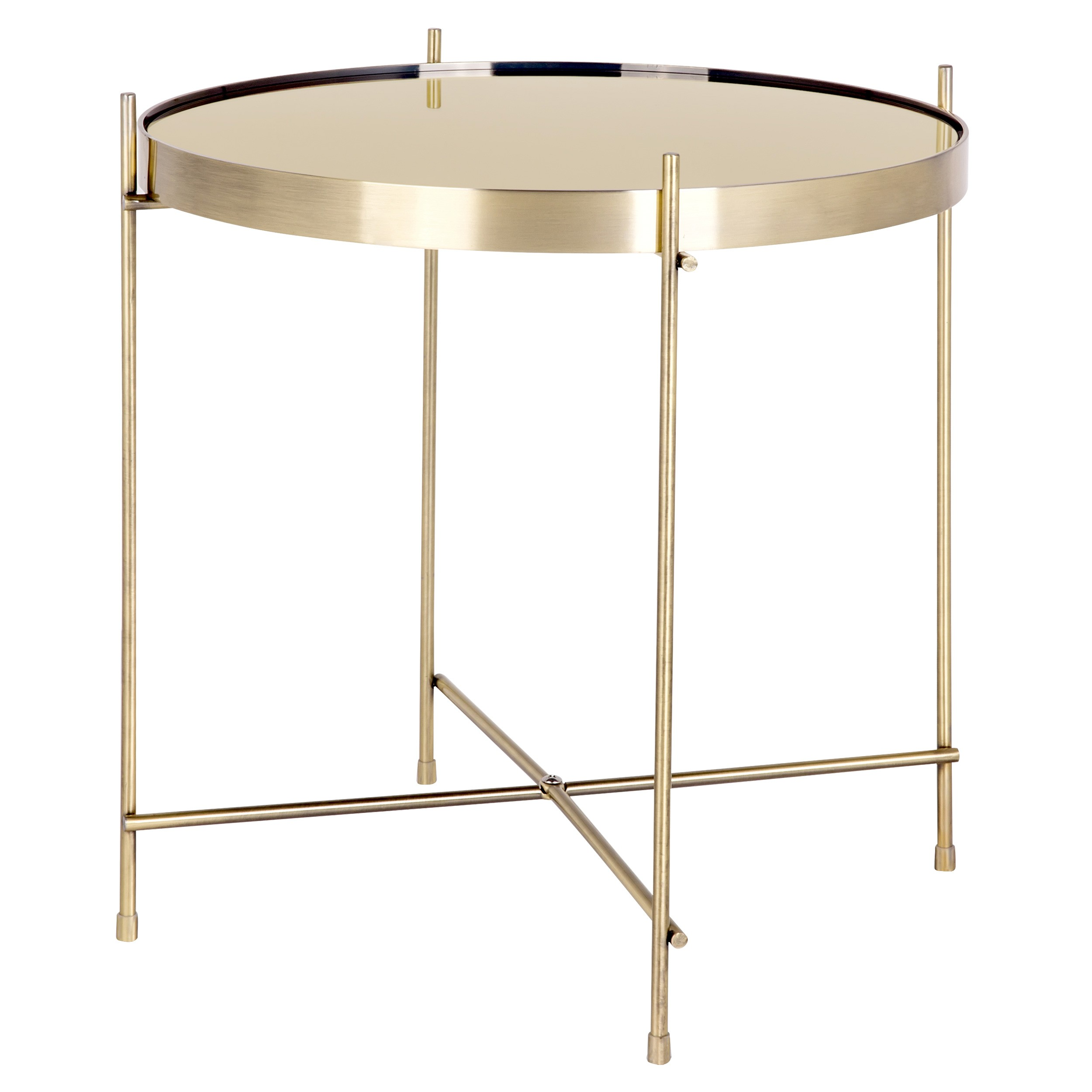 Taille Table Basse Table Basse Ronde Valdo Or S Achetez Nos Tables Basses
