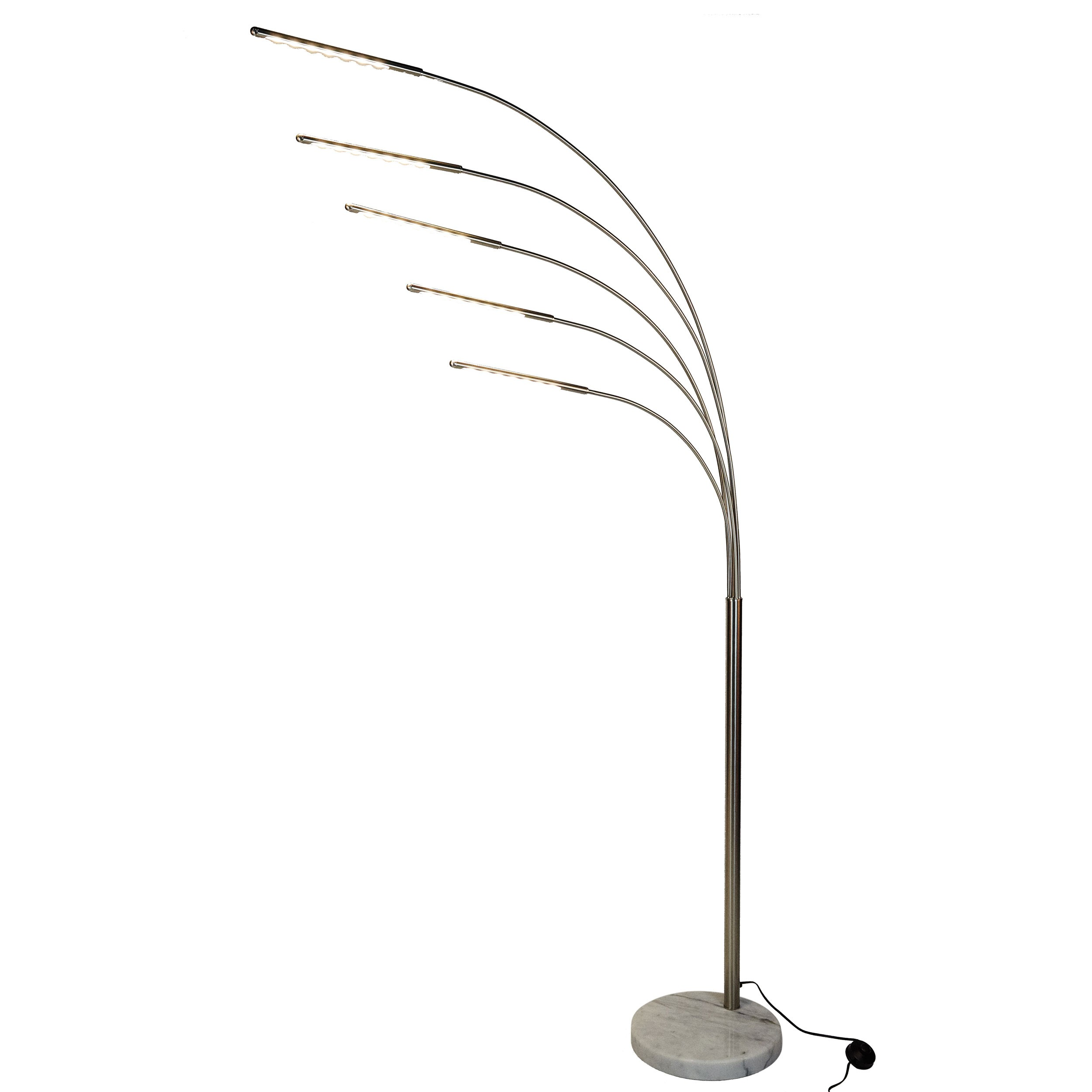 Lampadaire Chrome Lampadaire Led Rhéa Chrome Commandez Nos Lampadaires Led
