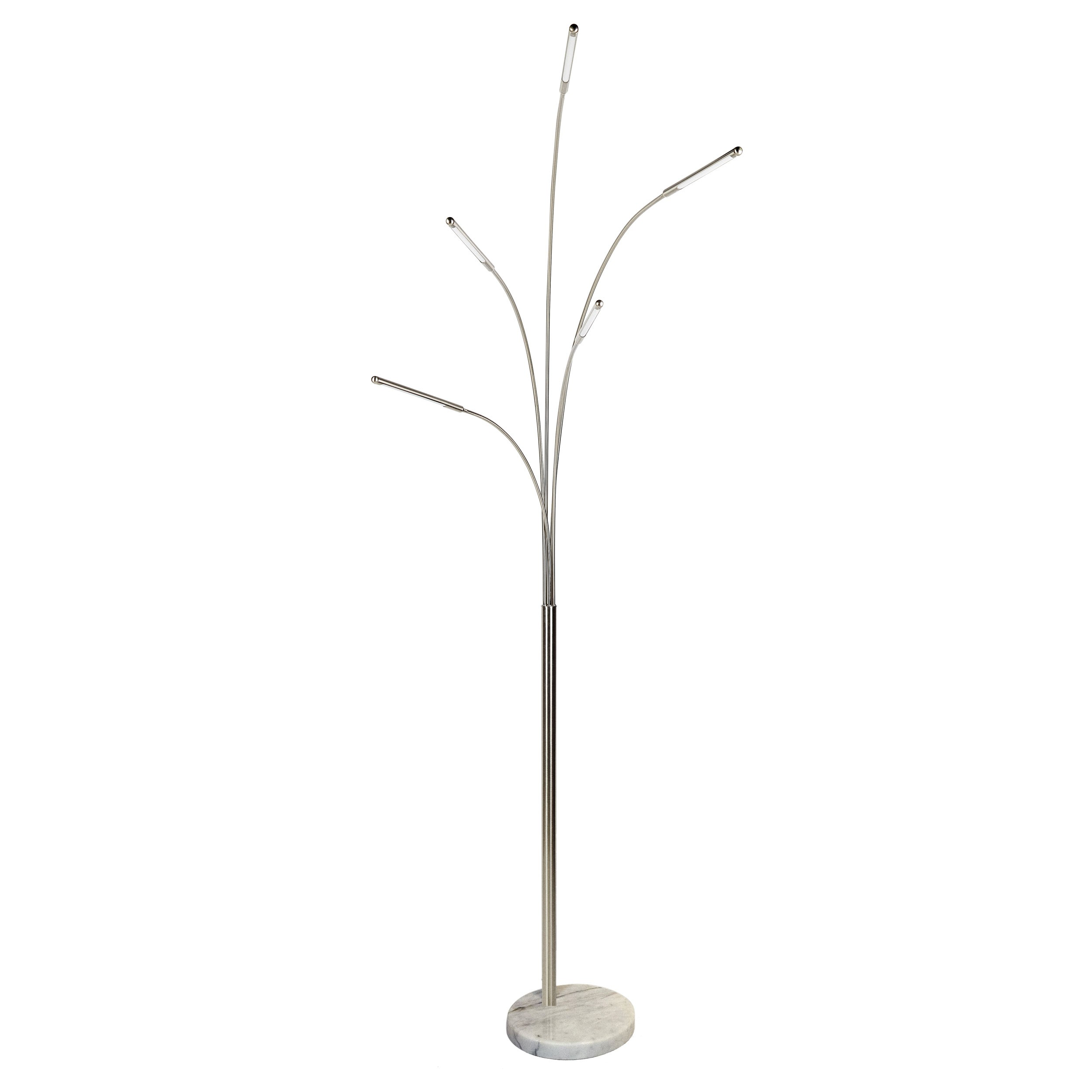 Lampadaire Led Salon Lampadaire 5 Branches Led