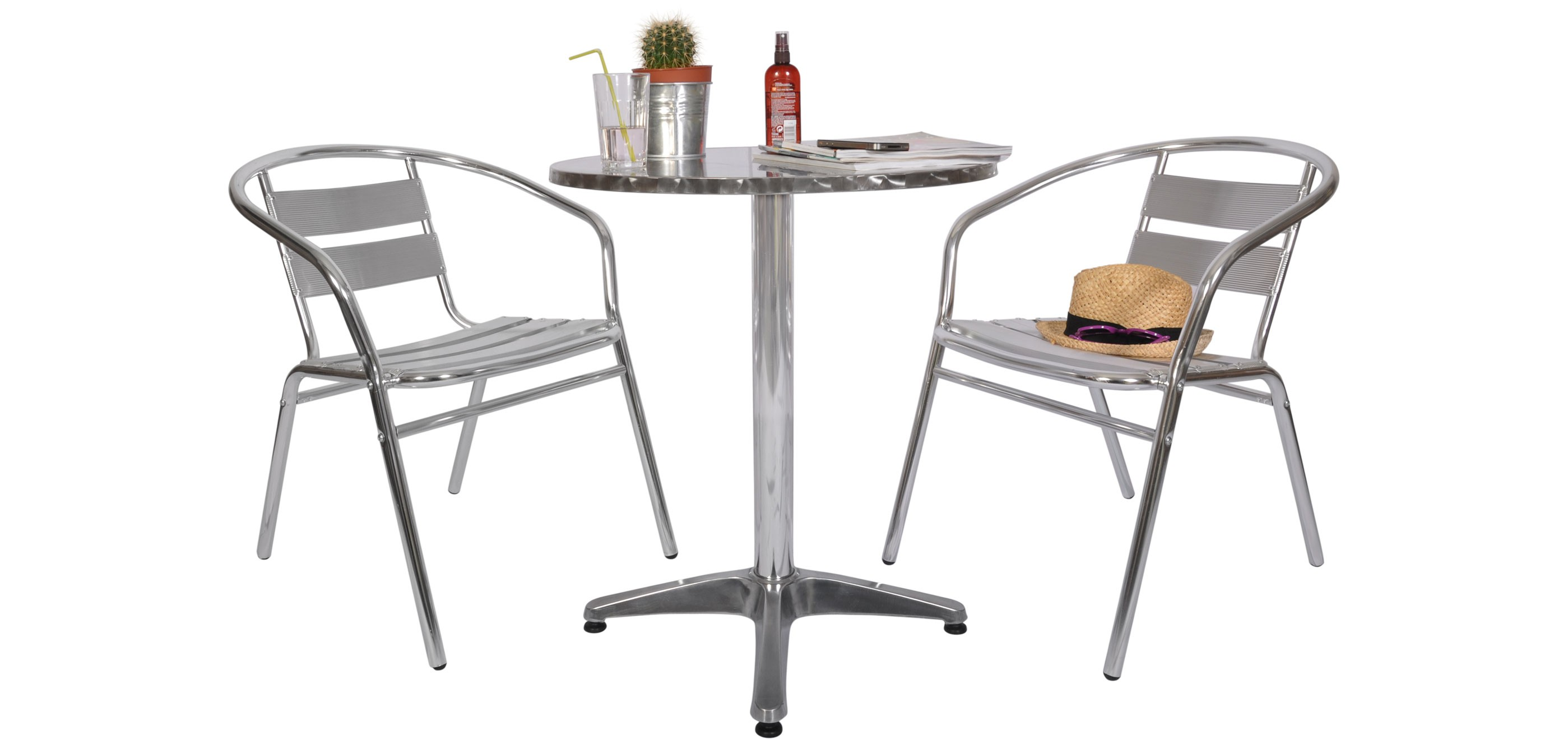 Table Bistrot Ronde Alu Table Et Chaise Bistrot Aluminium Perfect Table Et Chaise