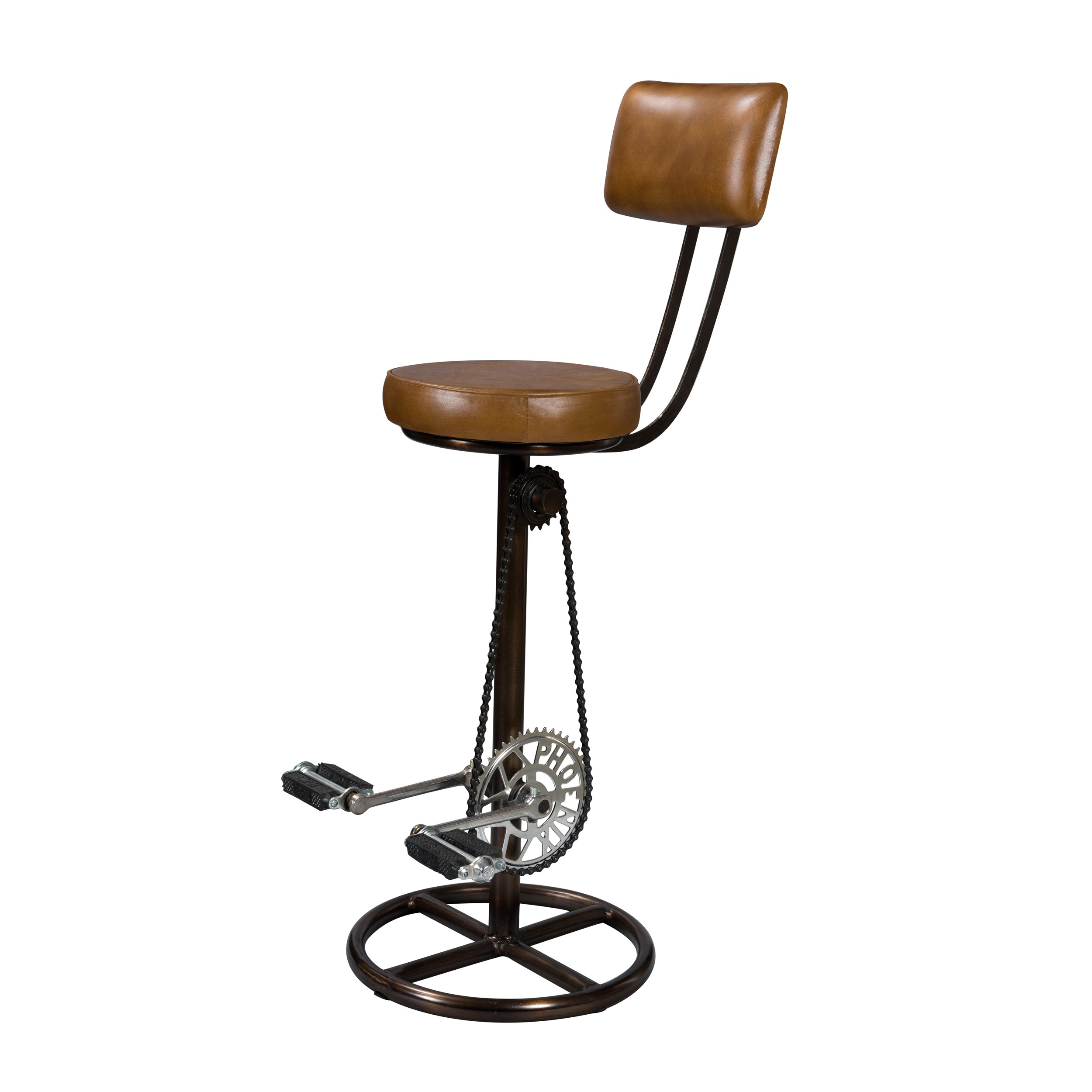 Chaise De Bar Marron Tabouret De Bar Marron