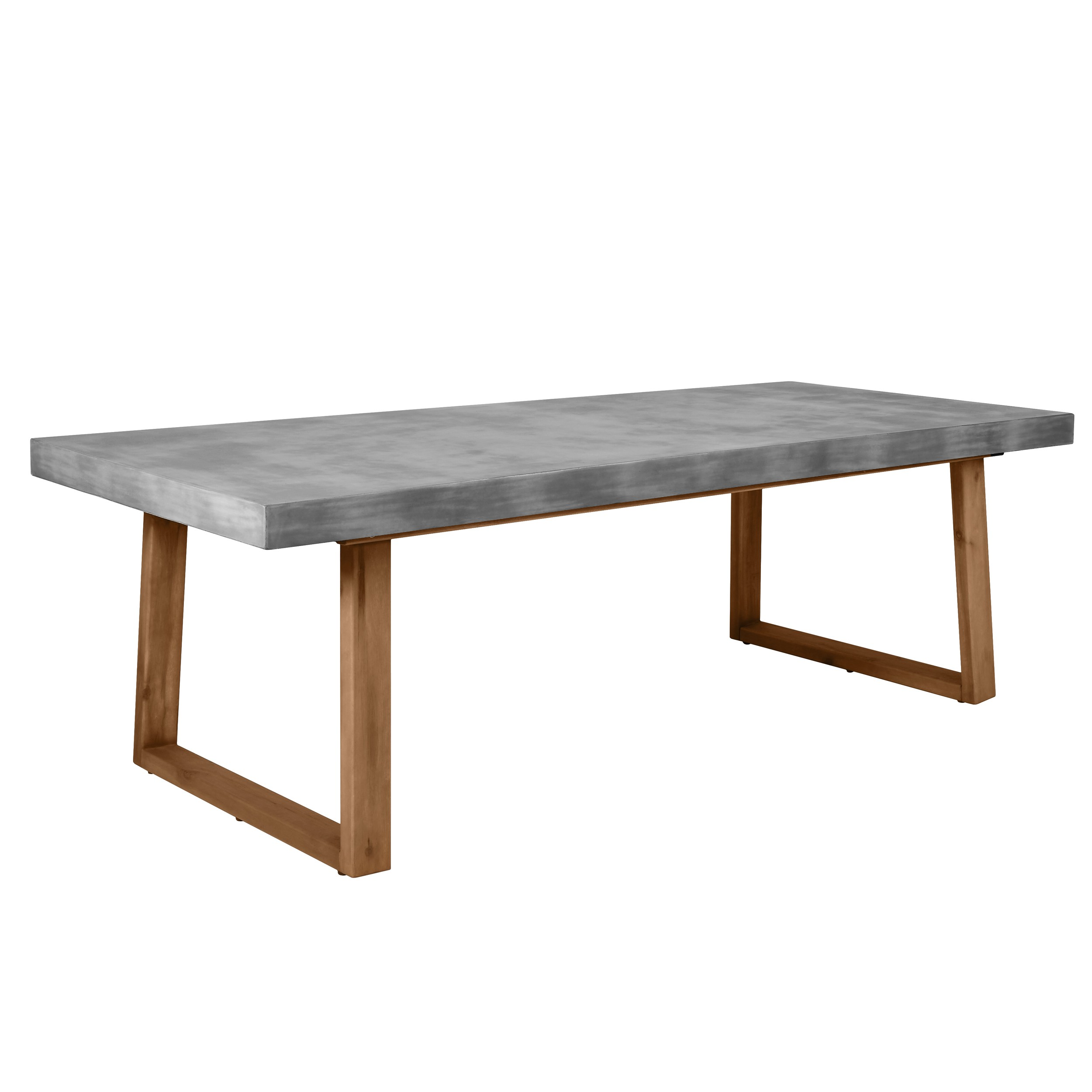 Table Rectangulaire 8 Personnes Table Rectangulaire Carillo 240 Cm En Béton