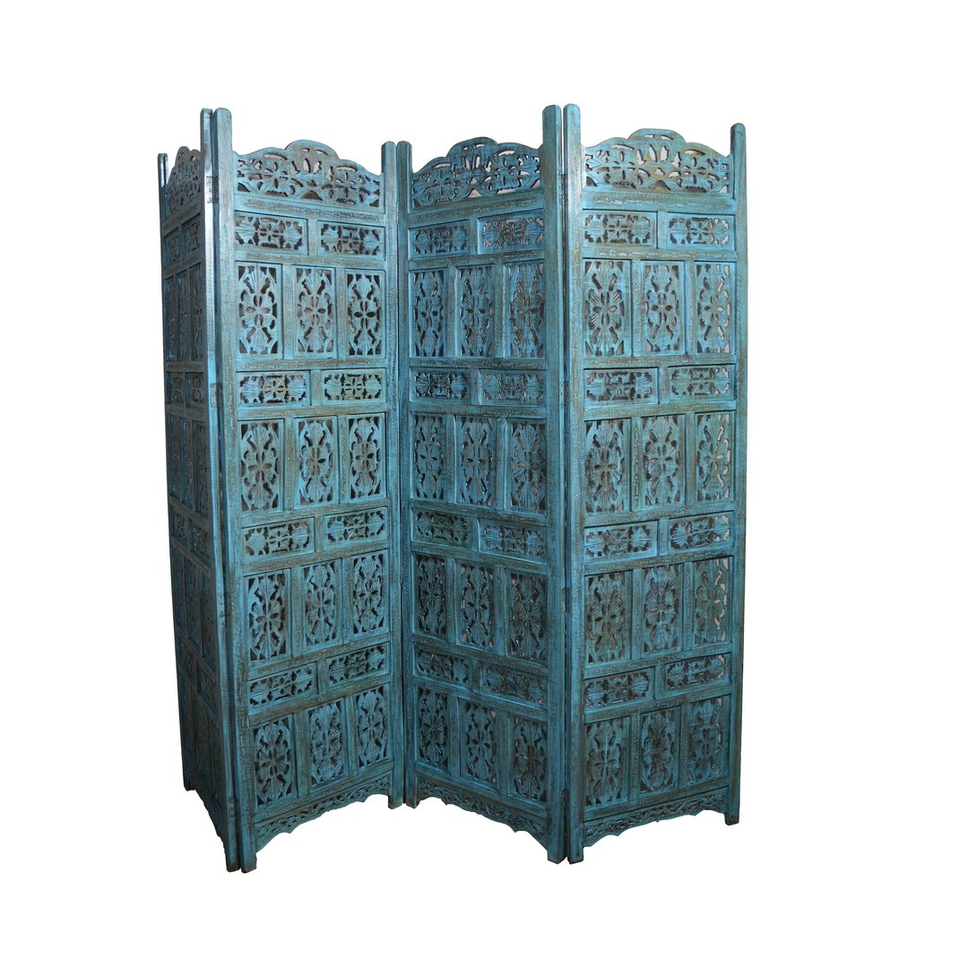Goedkope Roomdivider Vintage Screen Kashmeri Re Love Vintage Furniture Oosterse