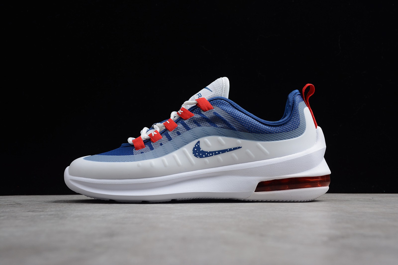 2020 Nike Air Max Axis Casual White Gym Red Blue Aa2146