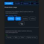 Multi-select Button Component For React Native