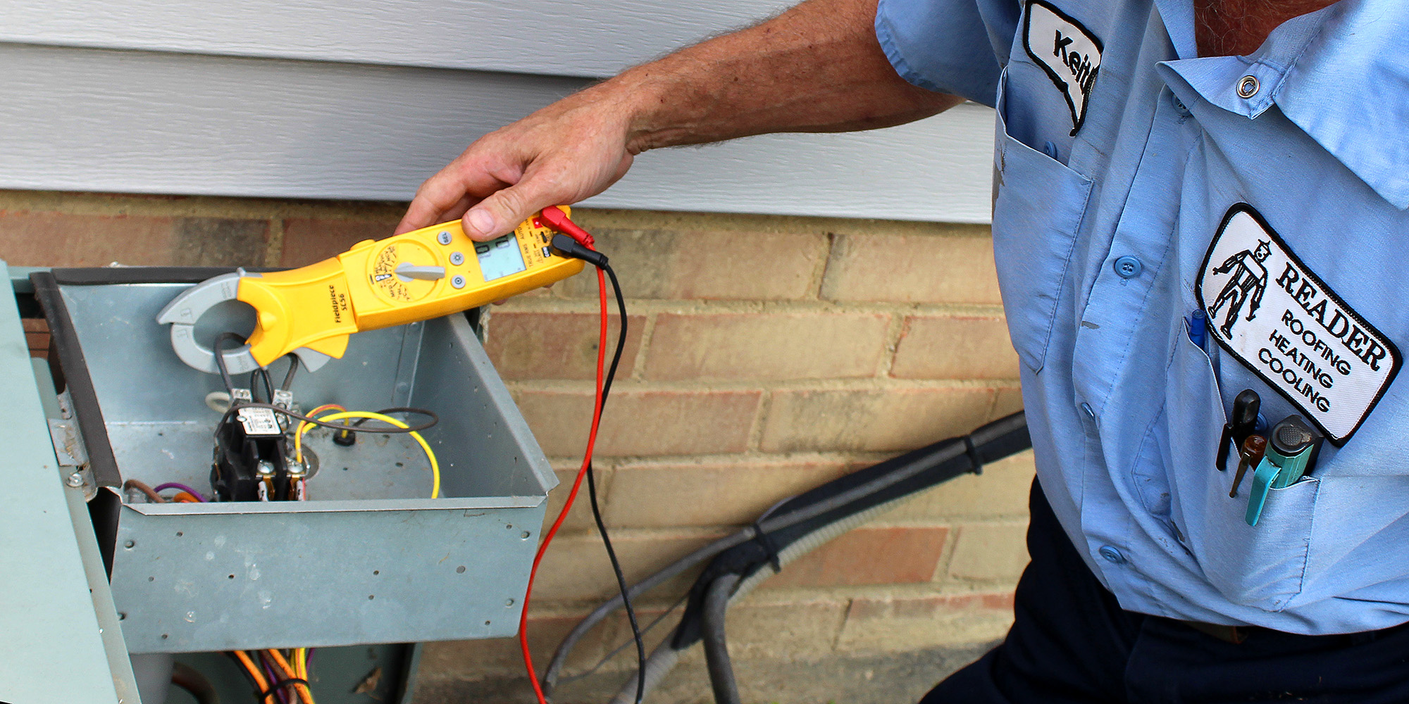 Reader Heating and Cooling can service your HVAC equipment.