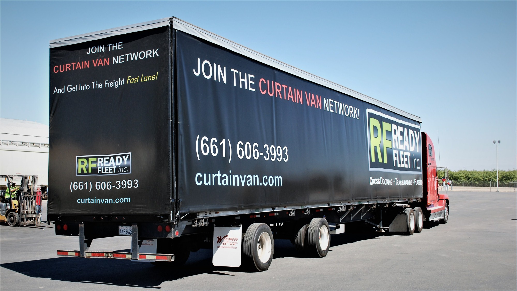 Trailer Curtains Curtain Van Curtainside Trailer Services In Central California
