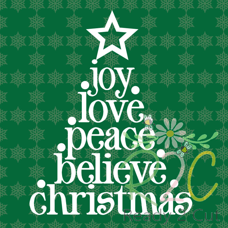 Christmas Tree Words \u2013 graphic file - christmas tree words