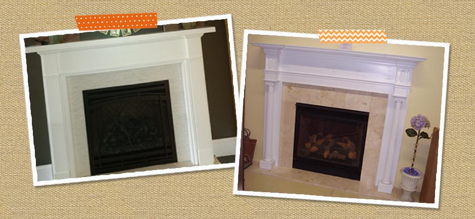 Custom Wood Fireplace Mantels Designs Fireplace Ideas