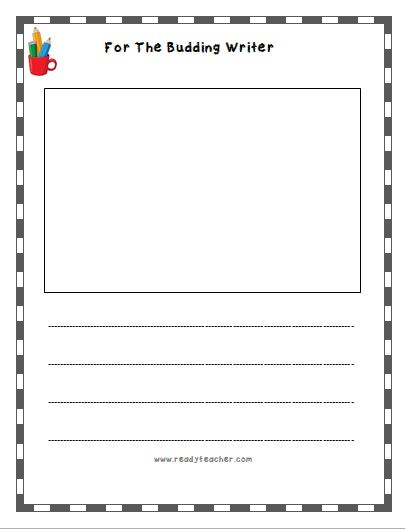 Lined Writing Paper Free Lined Writing Templates Readyteacher