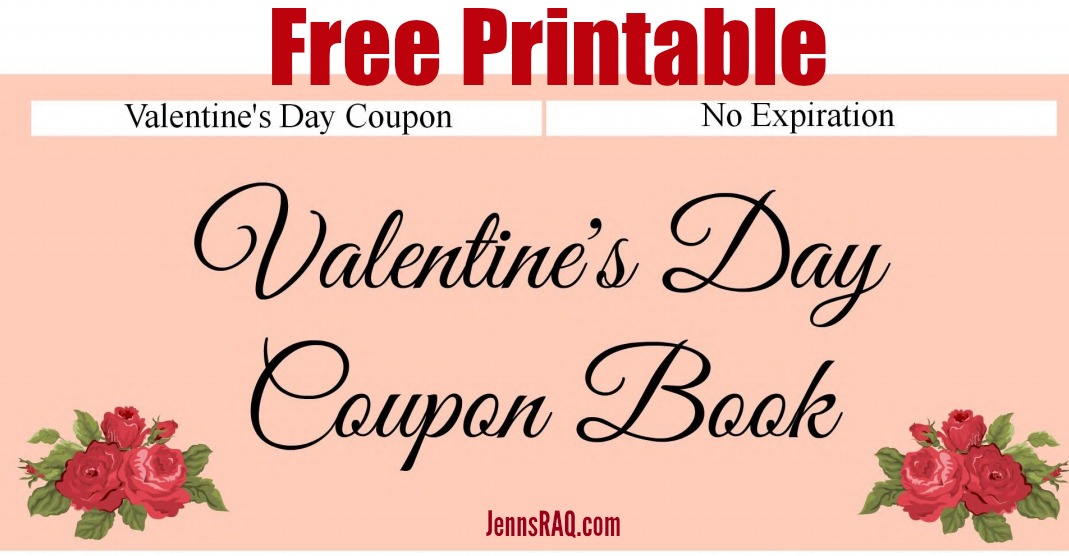 Free Printable Valentine\u0027s Day Coupon Book- Real And Quirky