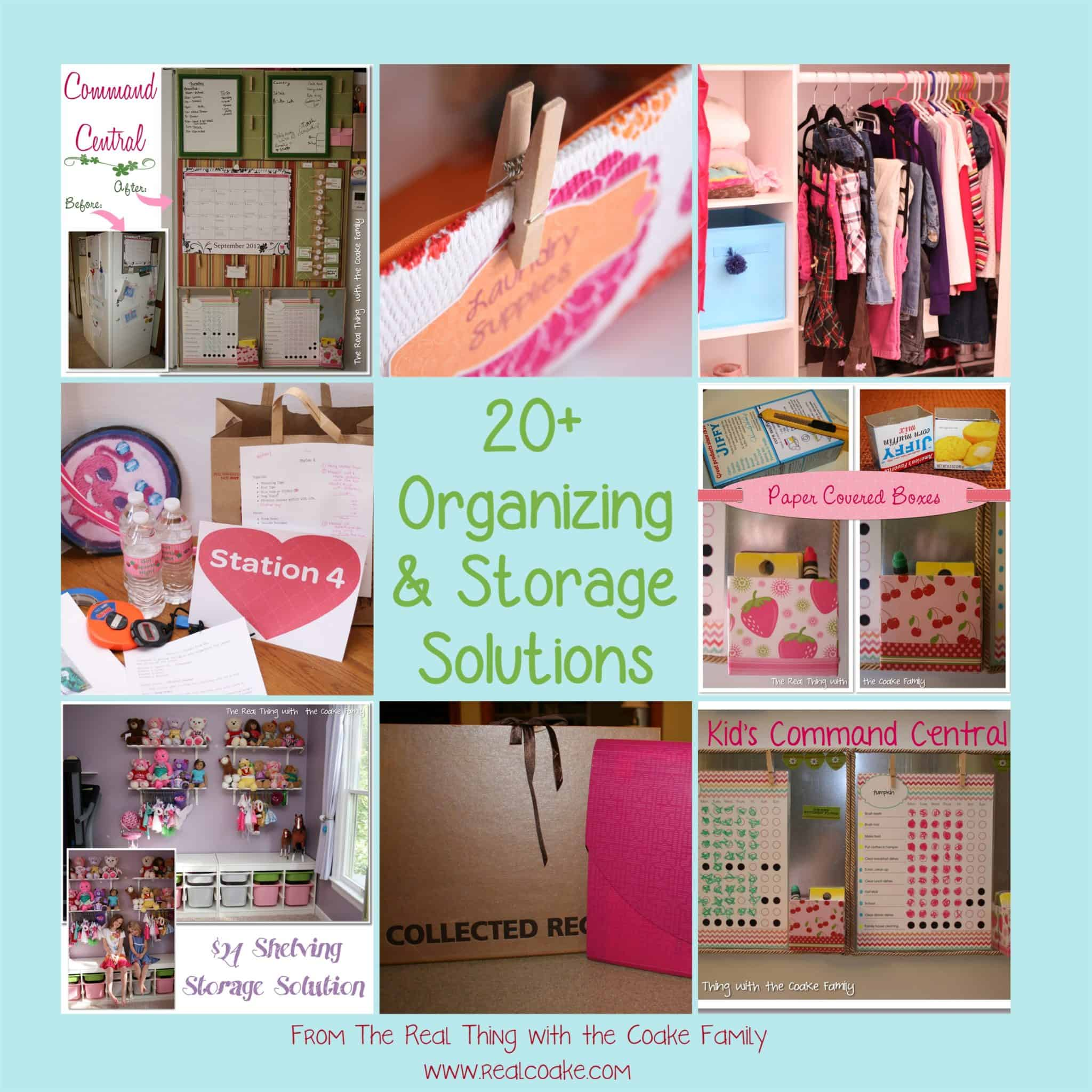 Storage Solutions 20 Organizing Ideas And Storage Solutions