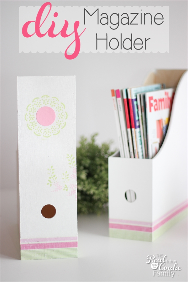 Ikea Expedit Office Make This Adorable Diy Magazine Holder » The Real Thing