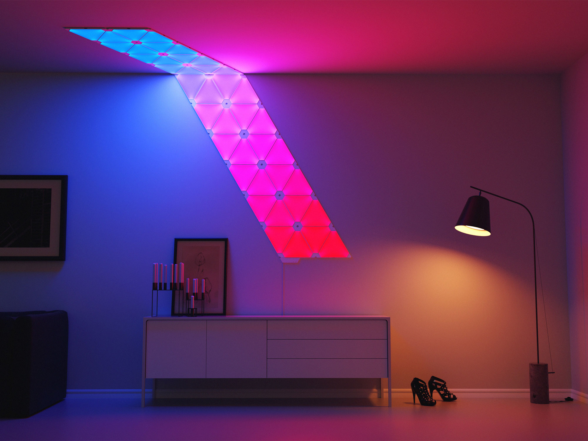 Jb Hi Fi Lighting Nanoleaf Canvas Will Change The Way You Think About Lighting