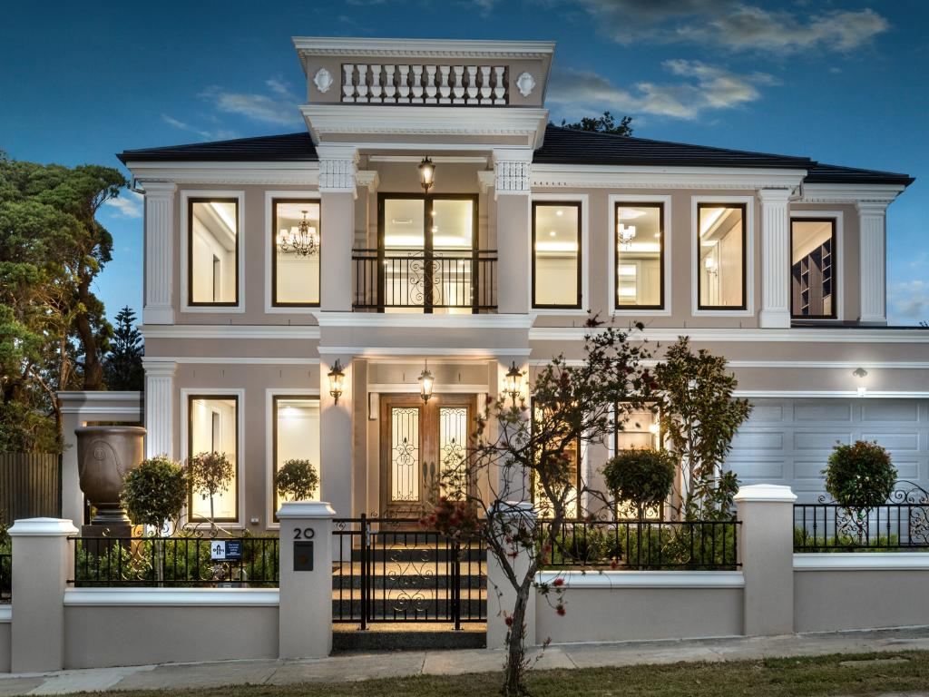 French Provincial Lighting Australia Newly Built Sanday St Glen Waverley Home Features French