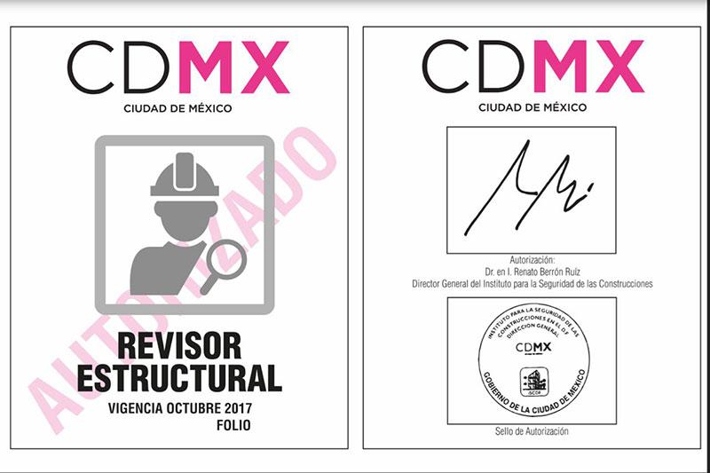 Instalarán 5 centros para reconstrucción de inmuebles en CDMX - formatos para gafetes