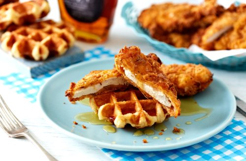 Medium Of Chicken  Waffles