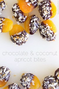 2 Chocolate-dipped Apricots by Real Food by Dad