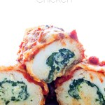 Easy Stuffed Rolled Chicken via Real Food by Dad