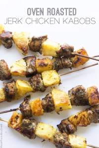 Oven Roasted Jerk Chicken Kabobs by Real Food by Dad