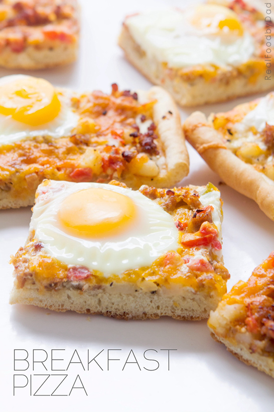 Breakfast Pizza by Real Food by Dad