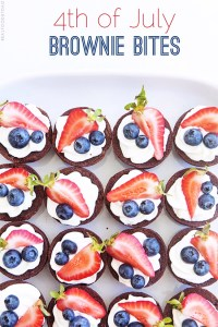 4th of July Brownie Bites with Real Food by Dad