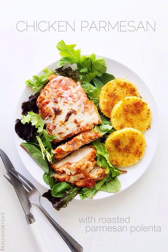Chicken Parmesan via Real Food by Dad