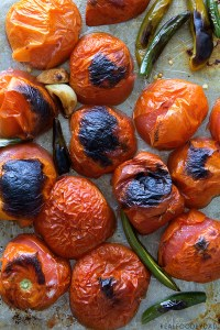 Fire Roasted Salsa Process by Real Food by Dad