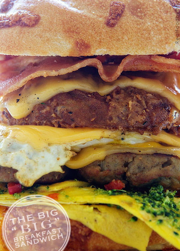 The Big Breakfast Sandwich with Real Food by Dad