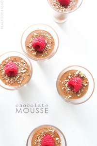 Chocolate Mousse with Real Food by Dad