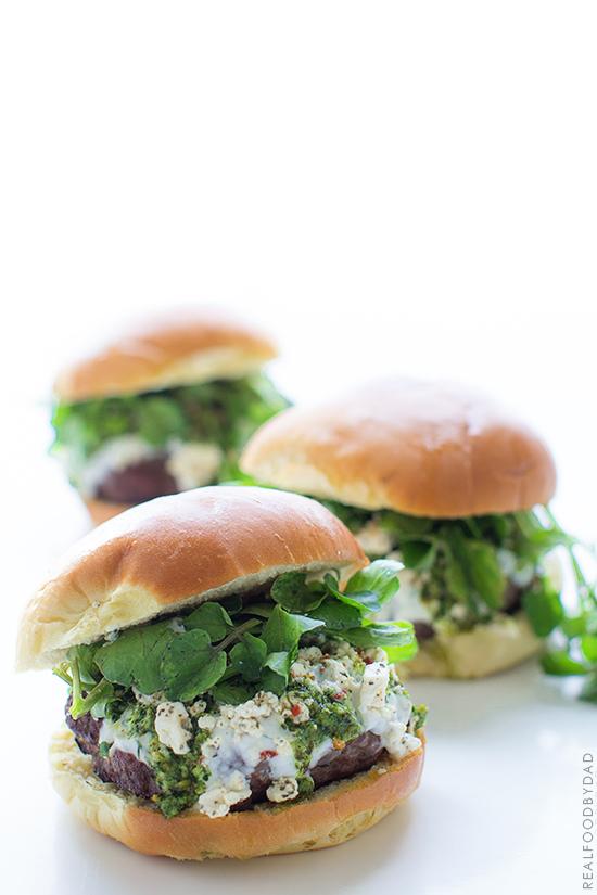 Mediterranean Lamb Burger via Real Food by Dad copy