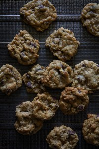 Crisp Oatmeal Chocolate Chip Cookies   Bakers Royale