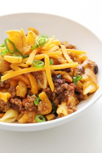 Baked Ziti Chili _ Real Food by Dad