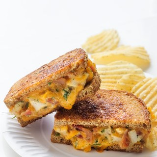 Cheddar Ranch Chicken &  Bacon Melt